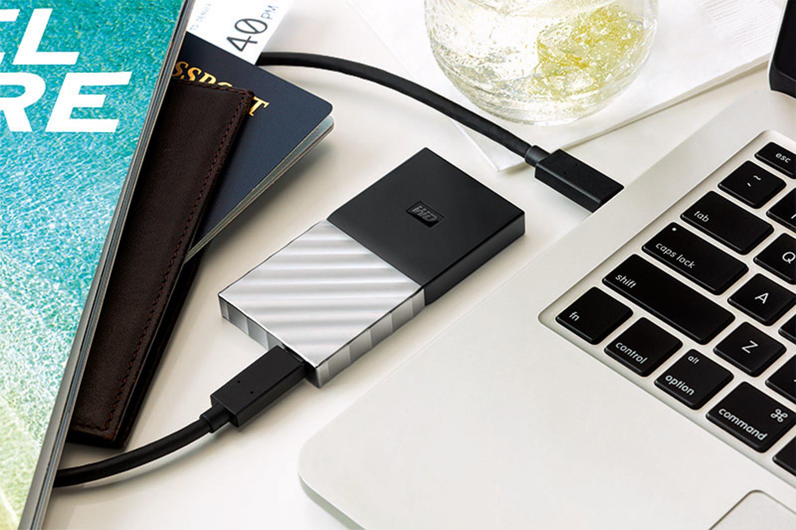 Western Digital cho ra mắt ổ cứng SSD di động