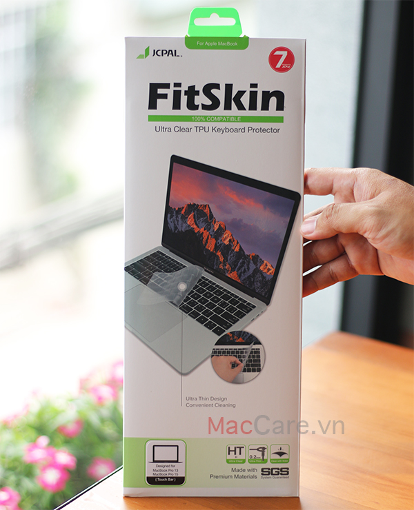 phủ bàn phím macbook pro touch bar