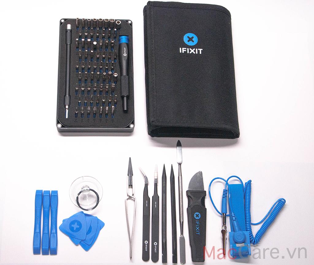 mở hộp bộ ifixit pro tech tool kit