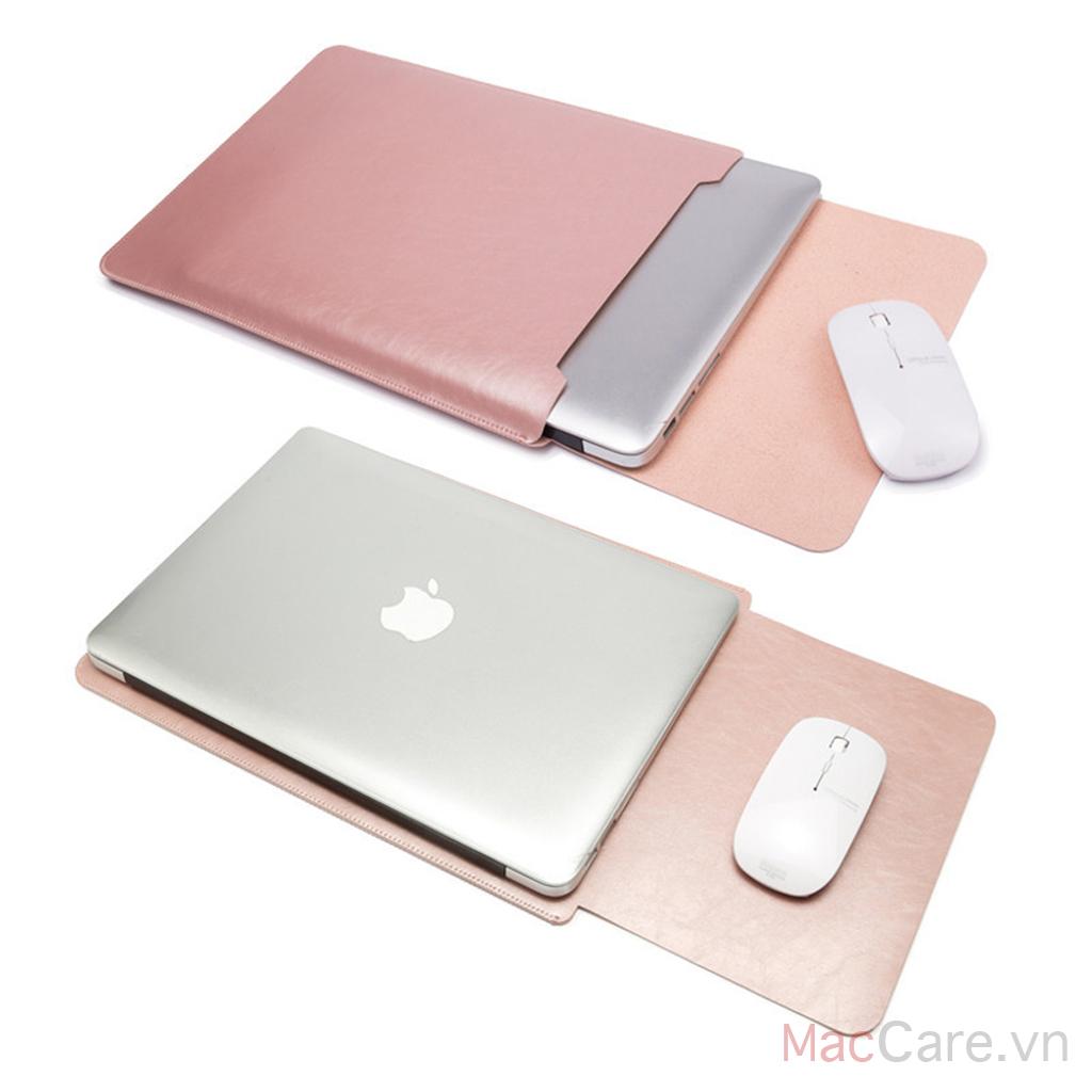 túi đựng macbook làm bằng da
