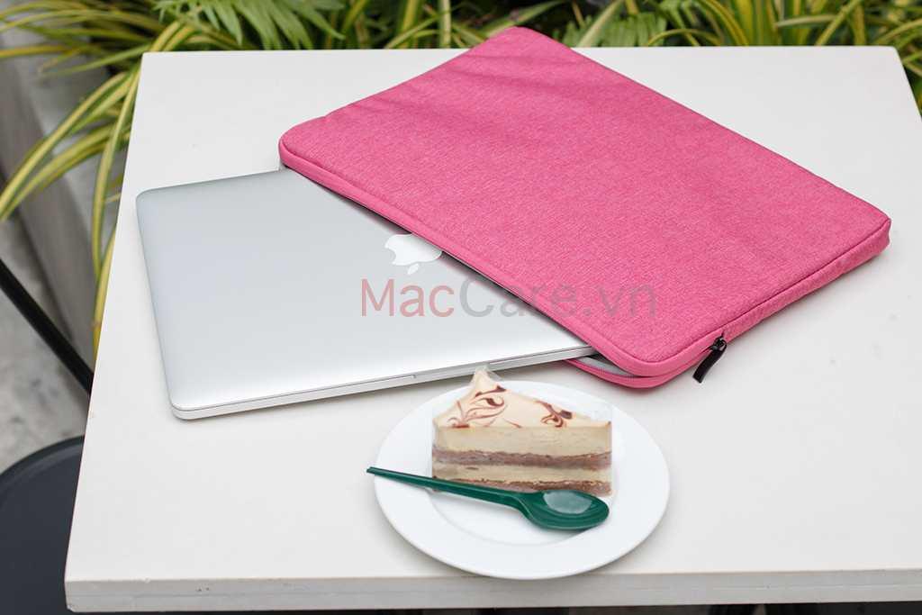 túi chống sốc màu hồng