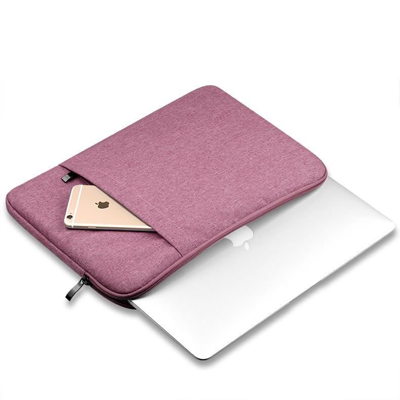 túi chống sốc macbook màu hồng