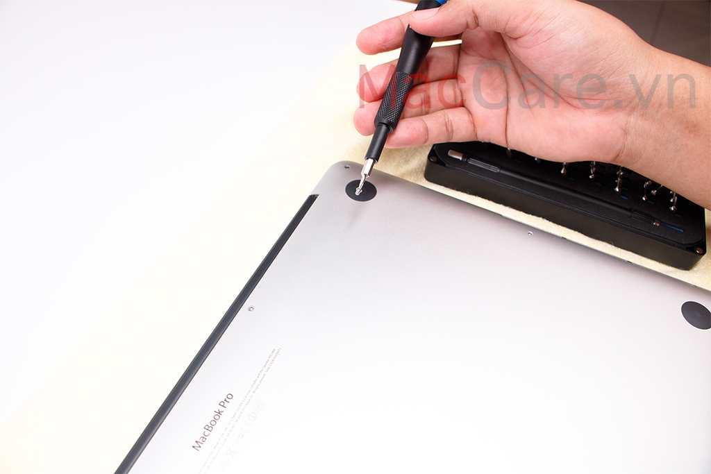 Bộ 10 Ốc vít Macbook, Ốc vít mặt đáy Macbook chính hãng