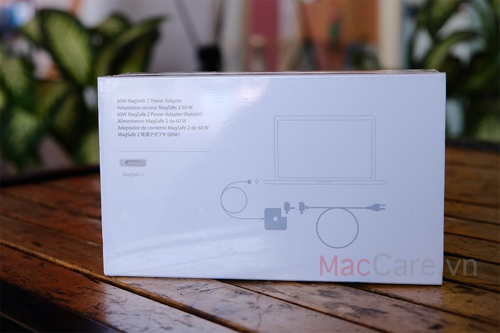 sạc macbook magsafe 2 60w