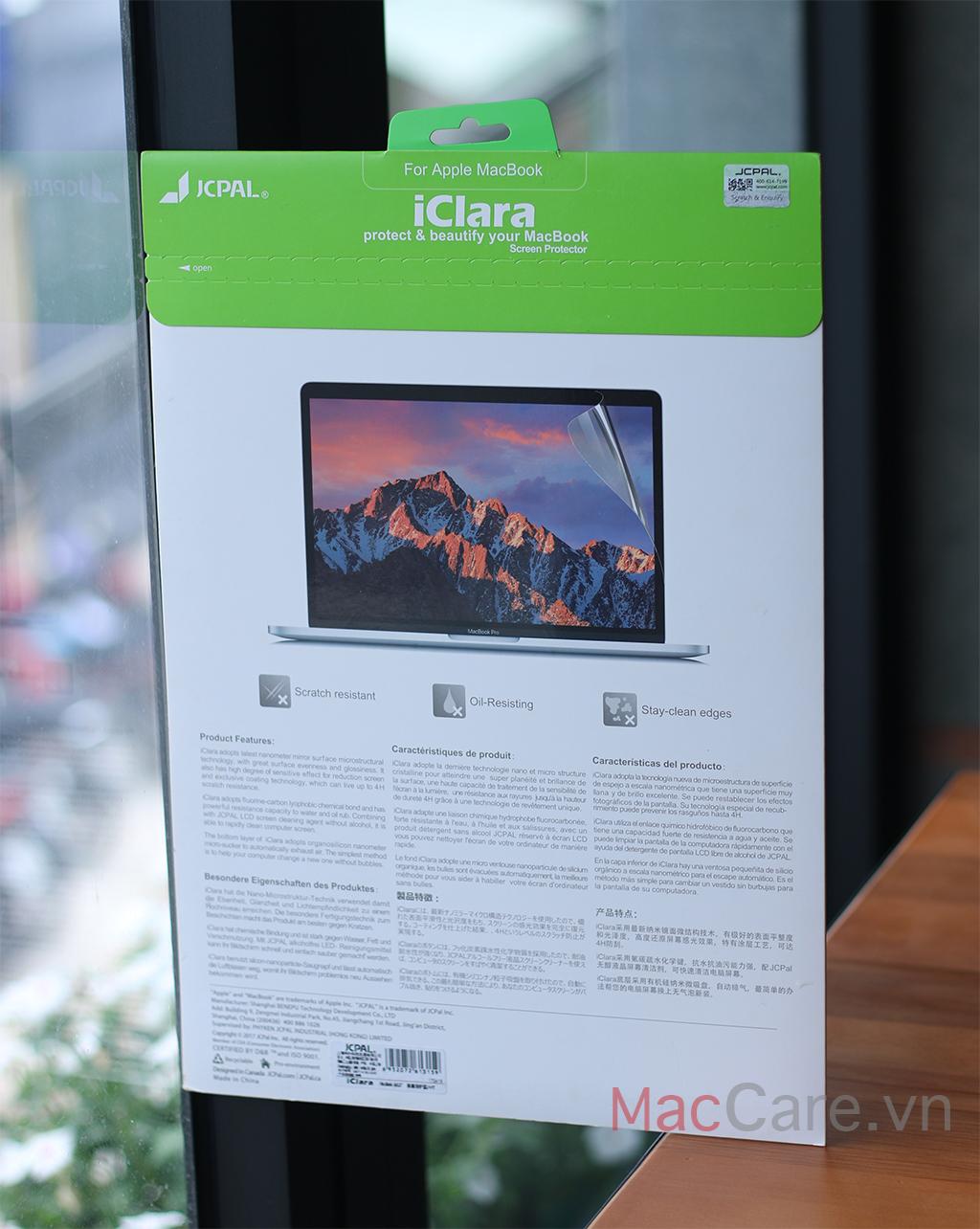 miếng dán màn hình macbook air