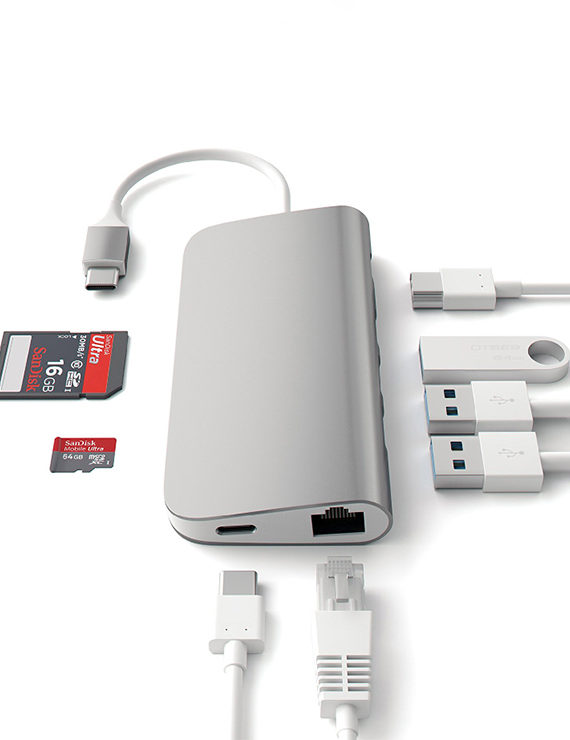 le touch usb c hub 8in1