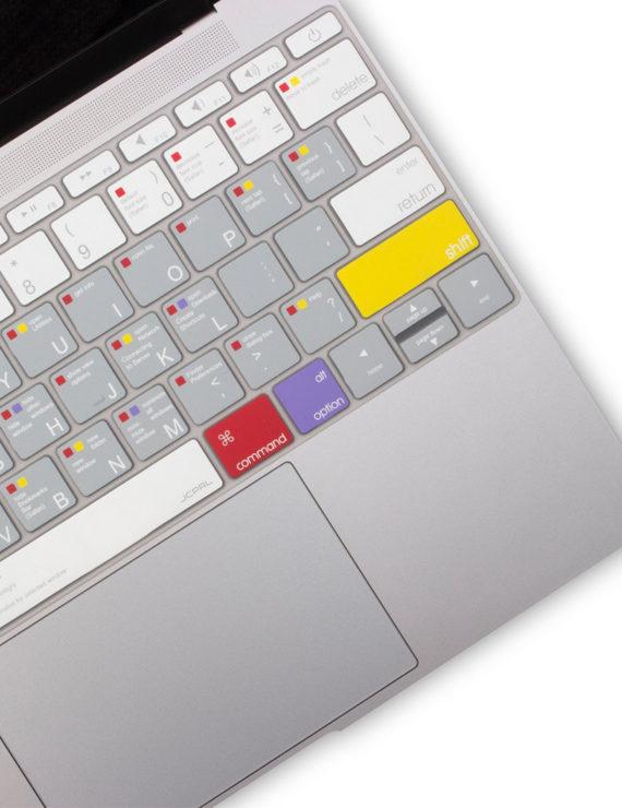 phủ bàn phím macbook có phím tắt macos