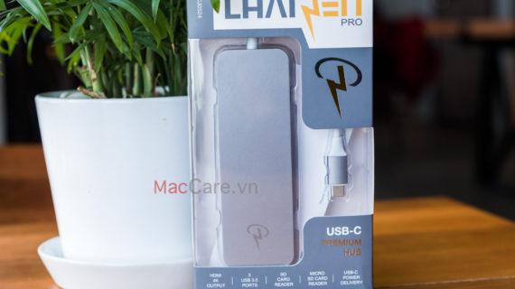 Mở hộp CHARJENPRO PREMIUM HUB USB-C chính hãng