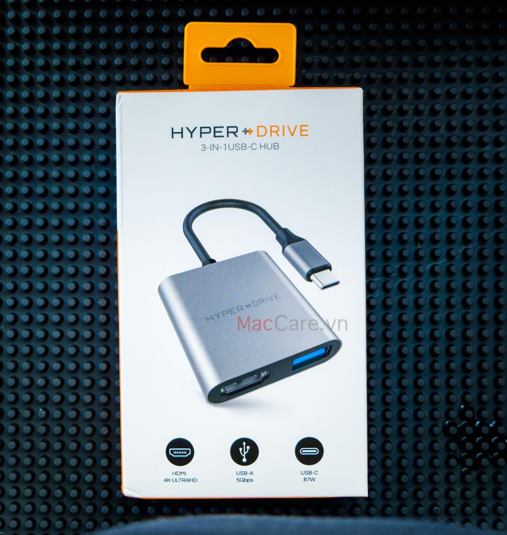 hyperdriver usb-c 3in1 to hmi 4k