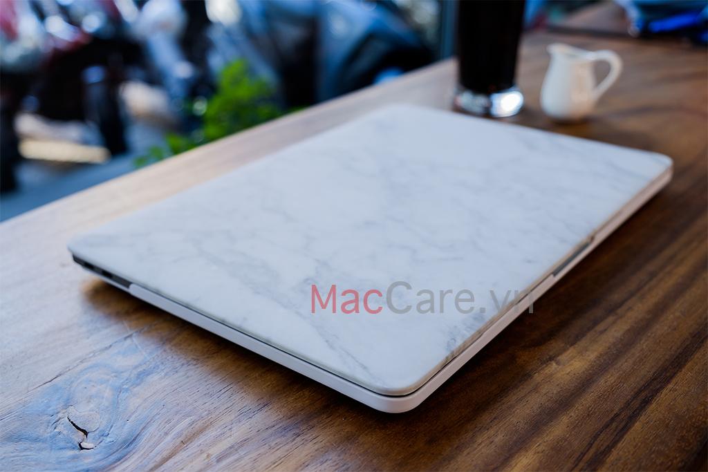 ốp macbook màu trắng
