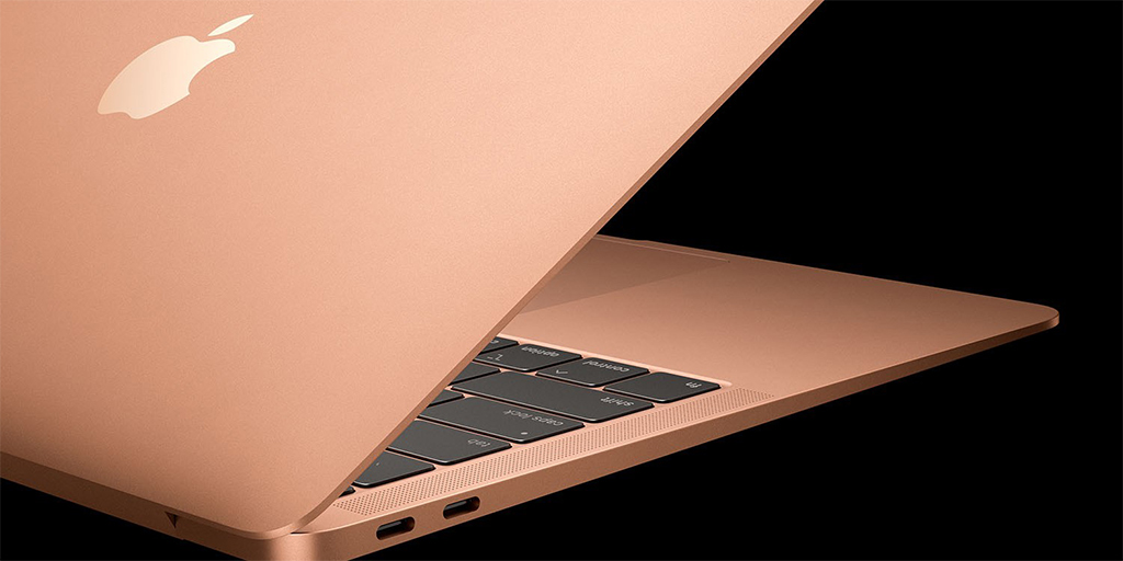 macbook air 2018 gold