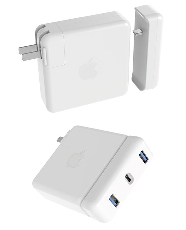 đầu chuyển gắn sạc macbook pro 13inch 61w