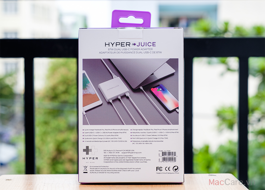 hyper juice 87w