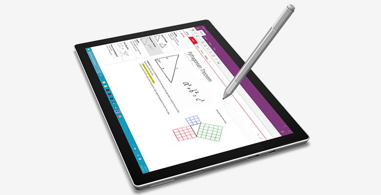 bút stylus đi kèm miếng dán cường lực jcpal surface pro 4