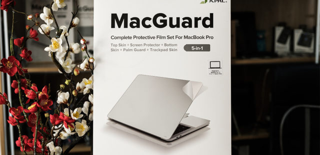 Dán 5in1 JCPAL Macguard cho Macbook 12inch, 13inch, 15inch