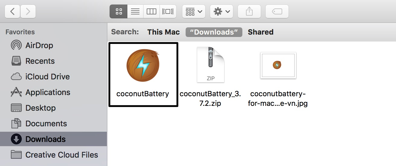 coconutbattery kiem tra pin macbook