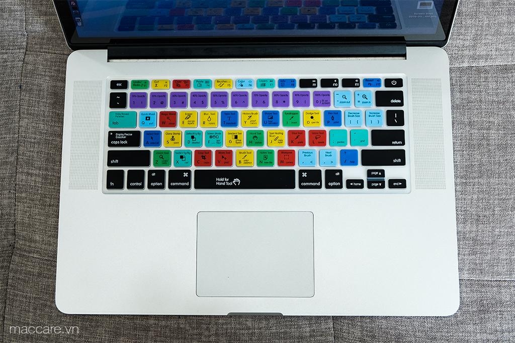 phủ phím macbook photoshop