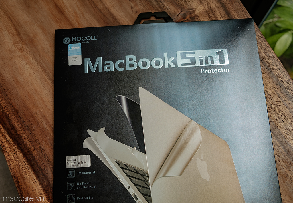 mocoll 5in1 macbook pro 13inch, 15inch