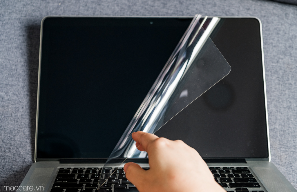 Hướng dẫn tự dán MacBook với bộ miếng dán 5in1 cao cấp