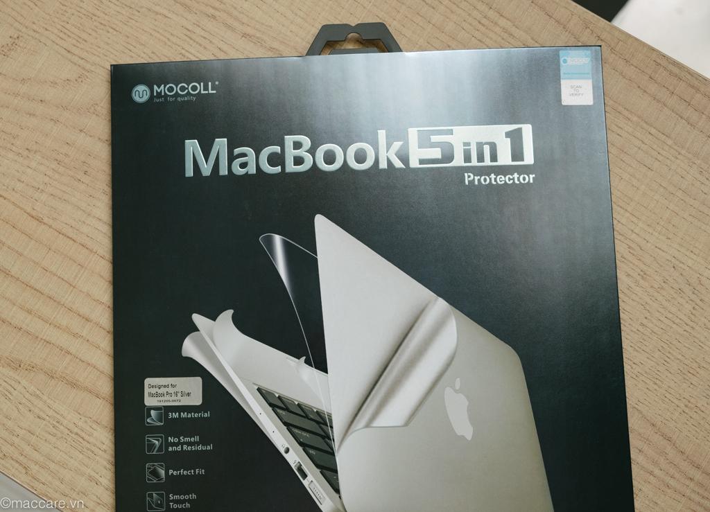 dán macbook pro 16inch silver