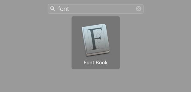 3 bước để cài đặt font cho Macbook qua Font book