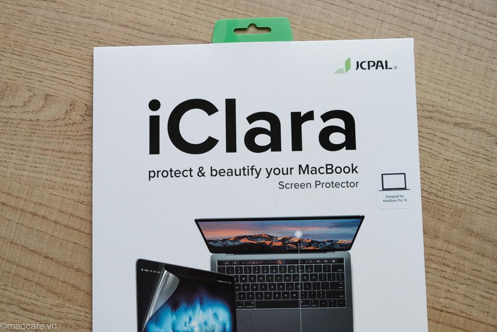 dán màn hình macbook pro 16inch iclara jcpal