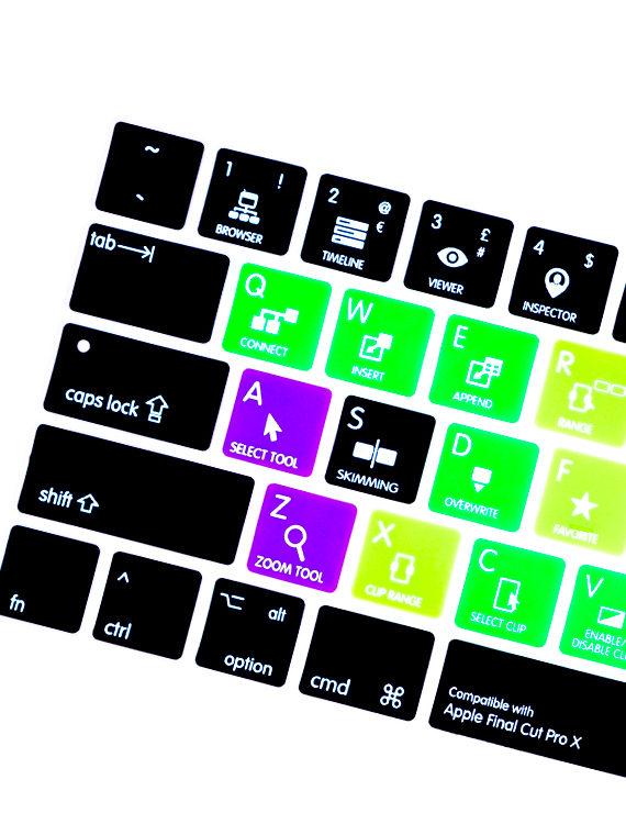 phủ phím tắt final cut pro cho macbook