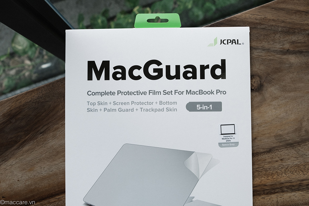 dán macbook pro 2020 5in1 jcpal macguard
