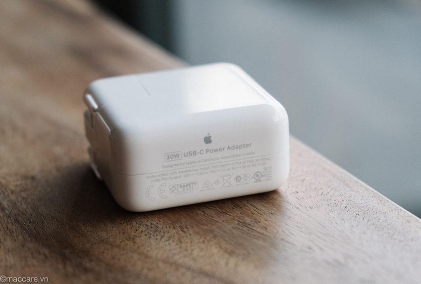 sạc macbook 30w usb-c chính hãng apple