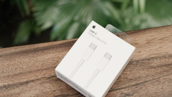 Phân biệt dây cáp sạc Macbook USB-C to USB-C chính hãng Apple