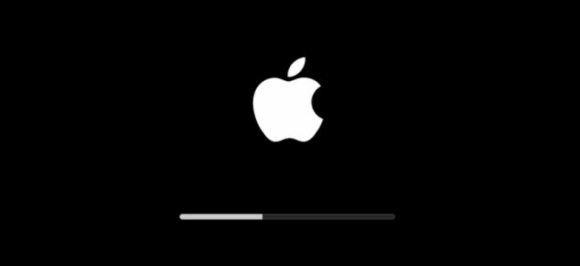 khởi động macbook