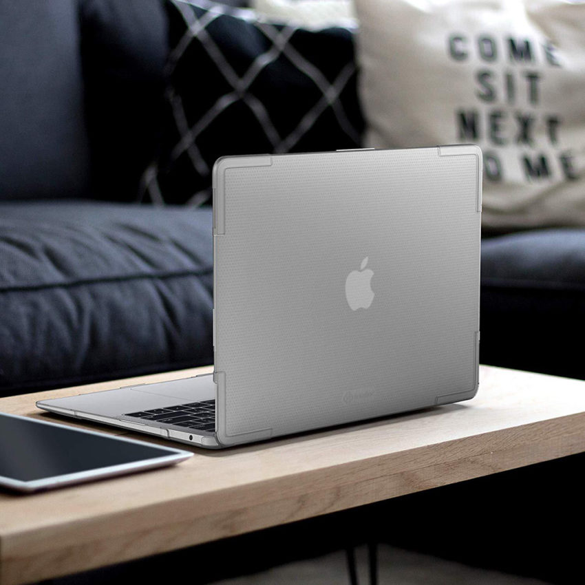 ốp macbook air 2020 tomtoc trong suốt