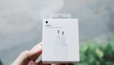 Đập hộp sạc 20w cho iPhone 12 chính hãng Apple