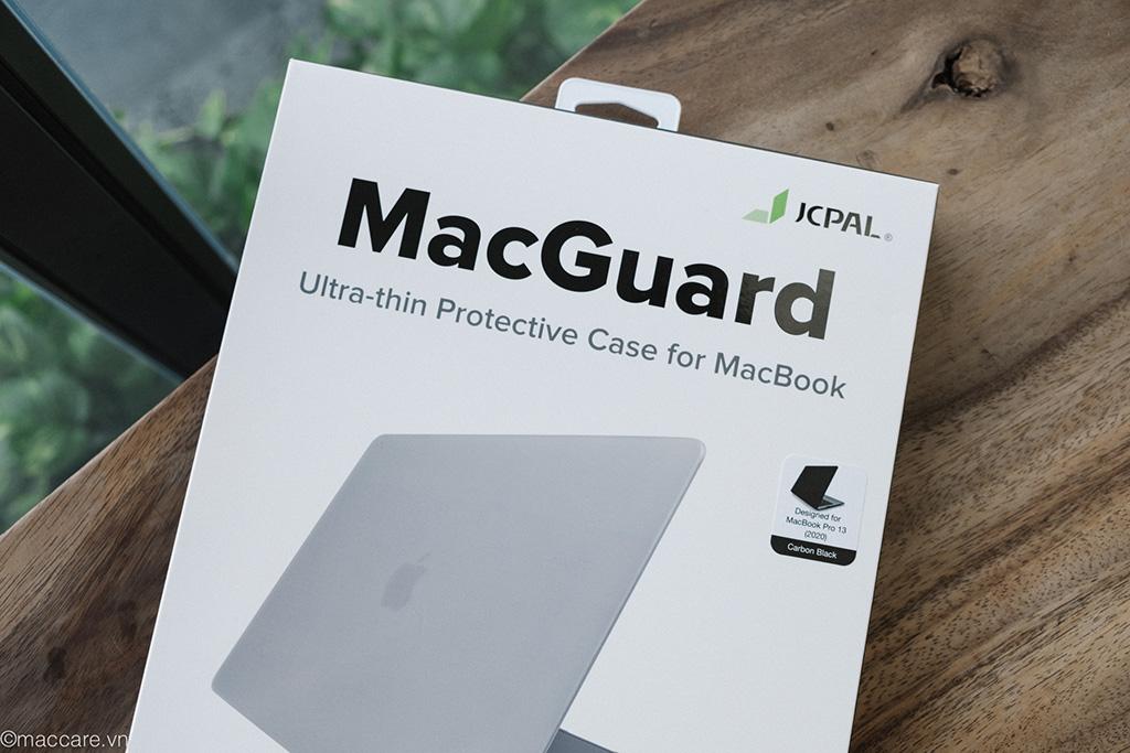 ốp macbook pro 2020 13inch màu xám đen