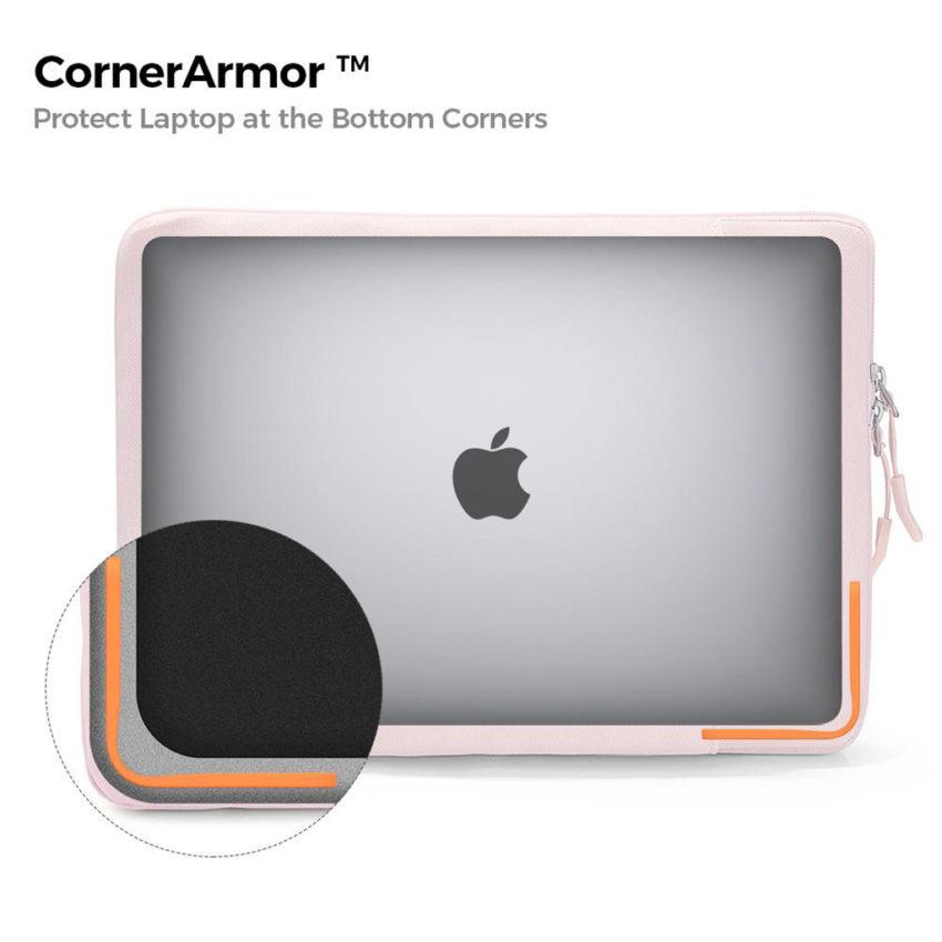 túi chống sốc màu hồng công nghệ corner amor