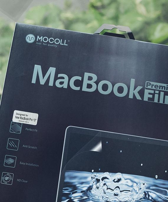 dán màn hình macbook pro 13inch chính hãng mocoll