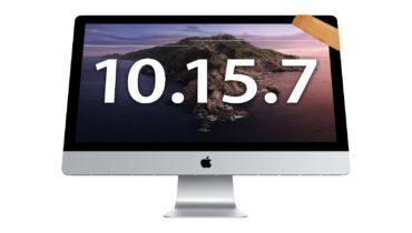 Apple phát hành cập nhật macOS Catalina 10.15.7 sửa lỗi bảo mật