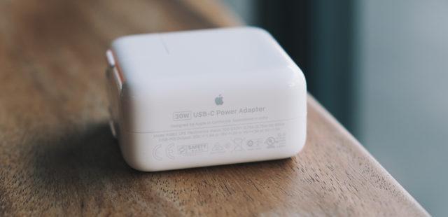 Kiểm tra nhanh sạc macbook air 13inch USB-C chính hãng hay không