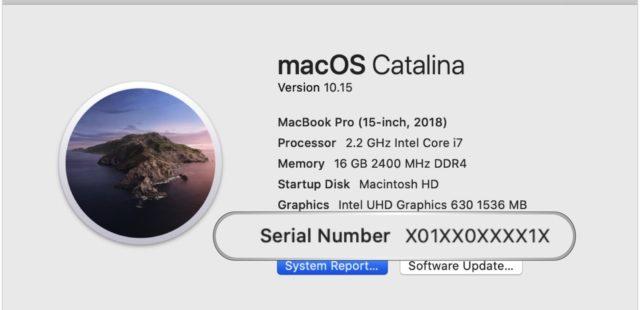 Apple lên kế hoạch đổi số seri ngẫu nhiên từ đầu 2021