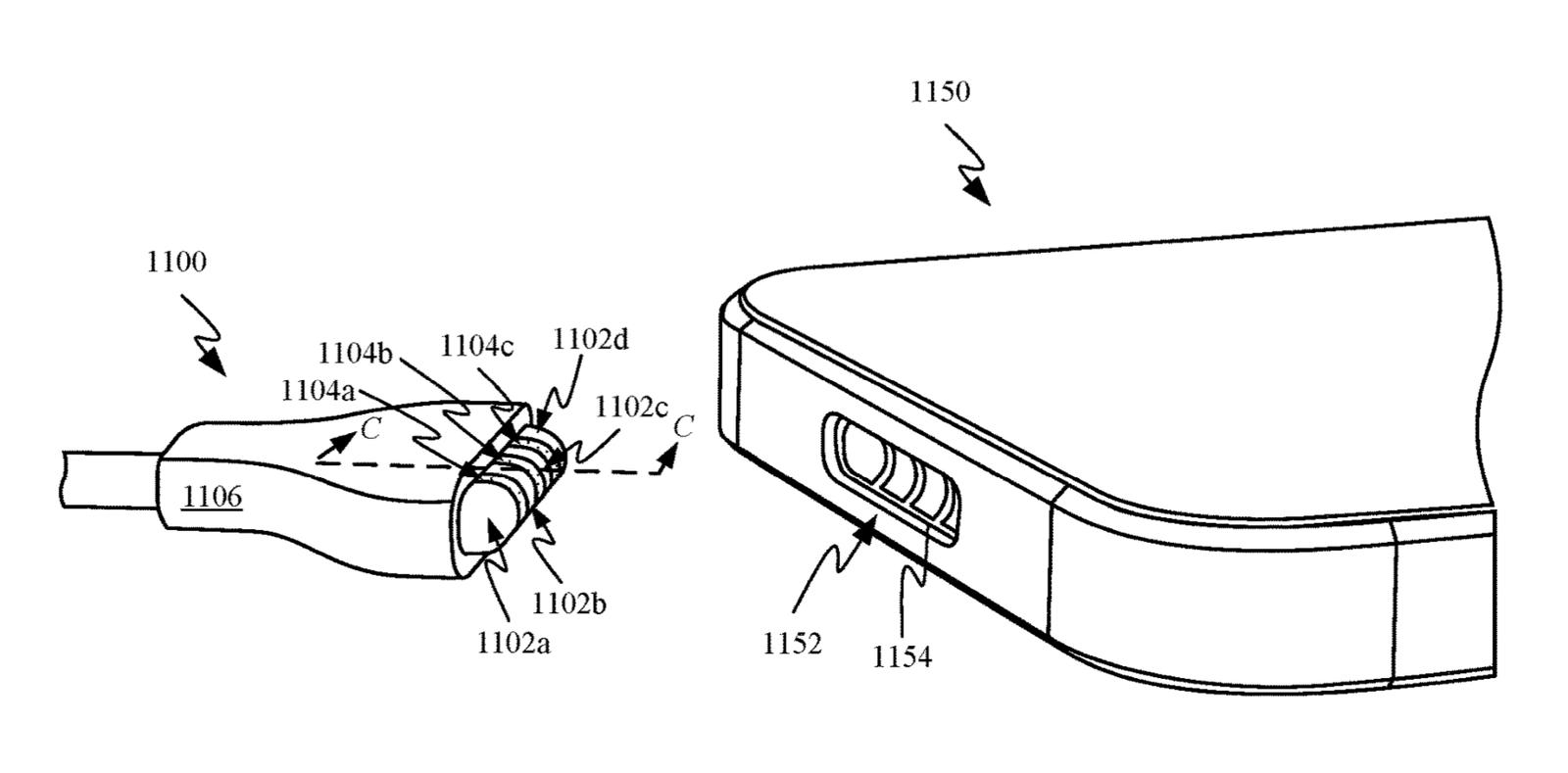 Cổng sạc MagSafe cho iPhone xuất hiện trong bằng sáng chế Apple