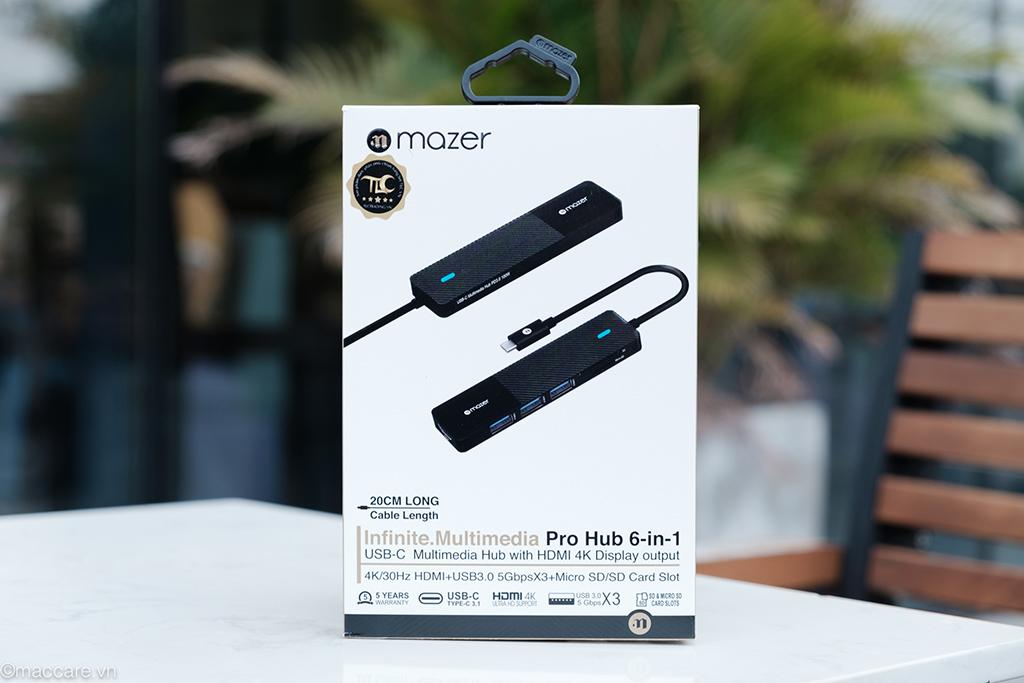 hub mazer 6in1 black