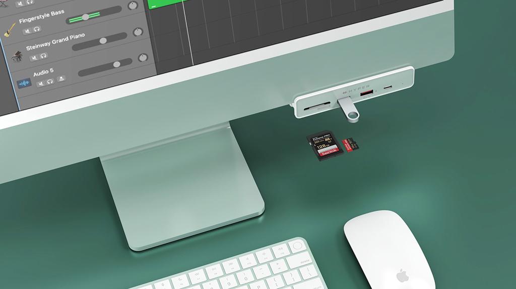 Hyper tung ra mẫu USB-C Hub cho iMac M1